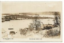 VAUCLUSE BAY SYDNEY NSW PHOTO POSTCARD