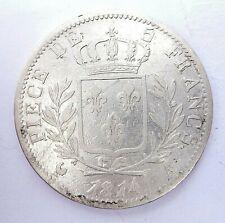 LOUIS XVIII  5 francs 1814 A