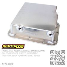"AEROFLOW FAB ALLOY POWERGLIDE AUTO 3"" DEEP PAN [HOLDEN HD-HR & HK-HT-HG MONARO]"