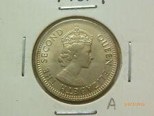 A: Malaya QEII 10 Cents coin 1961H - BU