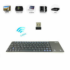 Rii 2.4G Multifunction wireless keyboard with touchpad for Mac/PC/Android/TV Box