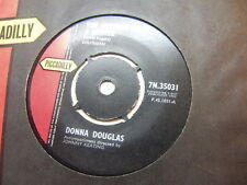 """Donna Douglas – The Message In A Bottle 1962 7"""" Piccadilly 7N 35031"""