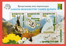Kazakhstan 2018.Butterfly / Fauna. Almaty Reserve. Block. NEW!!!!