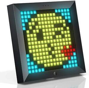 Divoom Pixoo Pixel Art Digitaler Bilderrahmen, Programmierbares 16*16 LED Panel