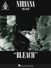 """NIRVANA-BLEACH"" GUITAR RECORDED VERSIONS W/TAB MUSIC BOOK-BRAND NEW ON SALE!!"