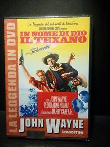 DVD John Wayne DeAgostini In nome di Dio il Texano Nuovo Blisterato