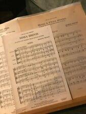 Partitions de chansons anciens et vintage pour orgue