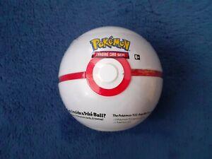 Pokemon Premier Ball Tin NEW card Booster packs XY Sun Moon Coin H20 Pokeball