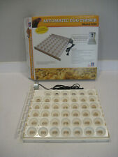 Farm Innovators 3200 Automatic 41 Spot Egg Turner for Improved Hatching, White