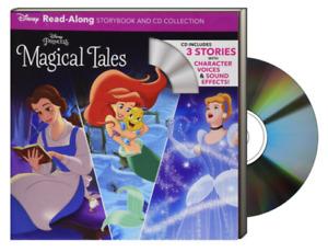 Disney Princess Read-Along : Cinderella, Little Mermaid, Beauty and the Beast