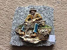Decoration berger sur plaque de marbre Vintage (1)