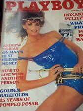VINTAGE PLAYBOY MAGAZINE JUNE 1985 FOXY ROXY ROXANNE PULITZER