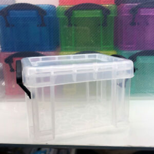 Multi Jewelry Case Box Desk Organizer Small Plastic Storage Box Container Holder