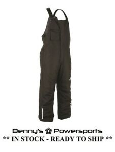 Fly Racing Men's Bibs Aurora Black Snowmobile Riding Racing Winter Snow Pants