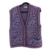 Vintage Missoni 70's Womens Sweater Vest Size 44 Missoni for Nordstrom Colorful
