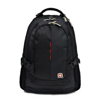 Black Men Women WENGER SWISSGEAR Backpack laptop bag leisure travel Student Bags