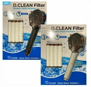 Daerimbath_D.Clean Shower Head Package Shower Head Purifier Water Filters Clean