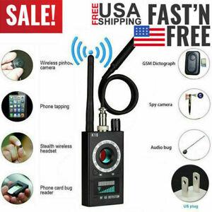 Hidden Camera GSM Audio Bug Finder GPS Signal Lens RF Tracker Anti Spy Detector#