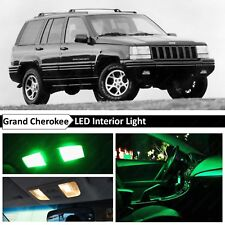 Green LED Lights Interior Replacement Package for 1993-1995 Jeep Grand Cherokee