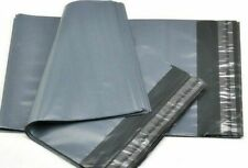 """50 Strong cheapest Mailing Bags 12"""" X 16"""" Extra Large Grey Plastic  Postal Bags"""