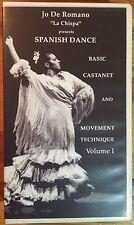 Jo De Romano Spanish Dance Vol. I: Basic Castanet and Movement Technique (VHS)