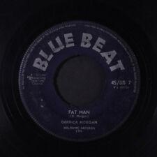 DERRICK MORGAN: Fat Man / I'm Gonna Leave You 45 (UK, no center) Reggae