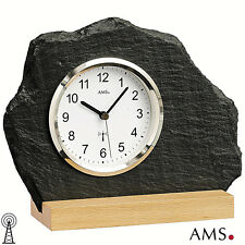 AMS 50 Orologio da tavolo Radio legno massiccio faggio orologio-stile UFFICIO