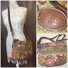 FOSSIL Multicolor Tapestry Crossbody Messenger Shoulder Bag | AA15