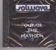 Solwave-Out of the Mayhem-2012-Rock- Music CD - Mini Album-Promo-BRAND NEW
