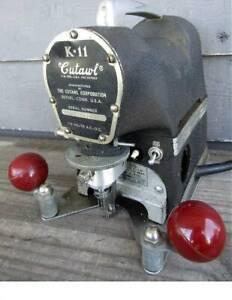 CUTAWL K-11 HIGH SPEED PORTABLE CUTTING MACHINE -- vg condition