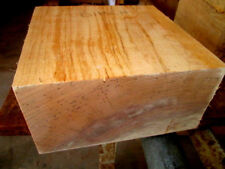 THICK BIRCH BOWL BLANK TURNING BLOCK LUMBER WOOD CARVE LATHE 8 X 8 X 4""