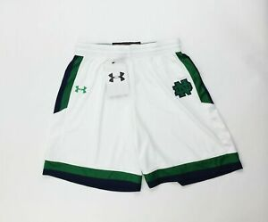 Under Armour Notre Dame Southbend Basketball Short Women's M UK010SW White