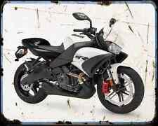 Buell 1125Cr 10 1 A4 Metal Sign moto antigua añejada De