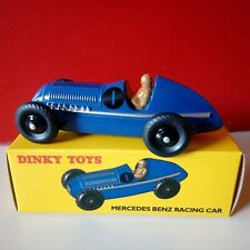 Modellino DIE CAST Dinky Toys Mercedes Benz Racing Car 23 C 1/43 1:43 Blu ATLAS