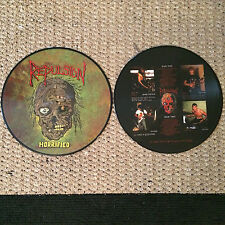"""REPULSION - HORRIFIED PIC 12""""LP Terrorizer Napalm Death Carcass Nunslaughter"""