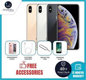 Apple IPHONE Xs Max 64/ 256/ 512GB Todos Colores (Libre) Smartphone - No Cara