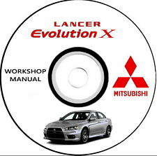 Manuale Officina,workshop Manual,Mitsubishi LANCER EVO X