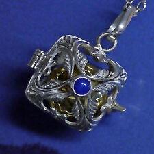 Echtschmuck aus Sterlingsilber mit Lapis Lazuli und Cabochon