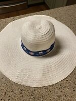 EUC-CHICAGO CUBS Mastercard Priceless Floppy White Hat SGA Free Shipping Cubbies