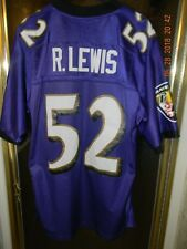 Reebok Equip NFL Baltimore Ravens  RAY LEWIS (HOF Class 2018 ) Jersey Size: L
