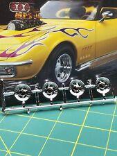 (4) Centerline ? Directional Wheels 68 Corvette Revell 1:25 Lbr Model Parts Fob