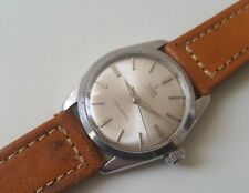 GENTS STAINLESS STEEL MANUAL WINDING ROLEX TUDOR OYSTER WRIST WATCH