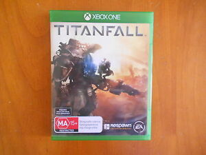 XBOX ONE SHOOTER GAME TITANFALL WITH MANUAL V GD COND - FAST POST