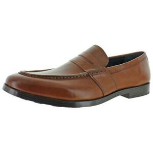 Cole Haan Mens Jefferson Grand Leather Slip On Penny Loafers Shoes BHFO 2601