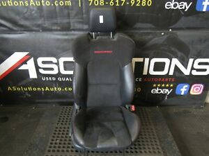 2007-2009 Mazdaspeed3 Front Passenger Bucket Seat Black Cloth/leather MS3