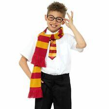 Kid Girl Boy Kit Scarf Glasses Tie Set Magic Harry Book Witch Wizard Christmas