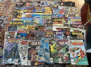 Collection 67 Comic Books Men In Black 3, Iron Man, Razor, Uncensored Mouse Etc