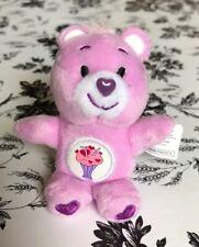"""Mini Plush Care Bear For Ginny Barbie Boneka My Meadow BJDs 7-16"""" Doll Diorama"""