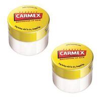 Carmex Original Classic Moisturising Lip Balm 7.5g - 2 Pack