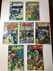 GI Joe comic lot issue #2, 10, 15, 16, 18, 19, 22